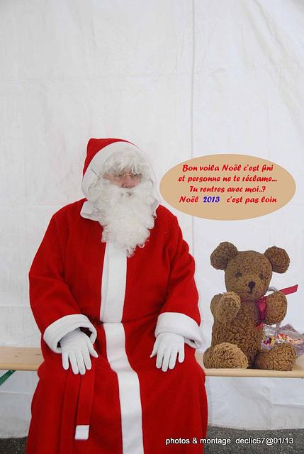 Le retour du Père Noël