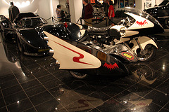 1966 Yamaha YDS-3 Batcycle - Batman film 1966 - Petersen Automotive Museum (8185)