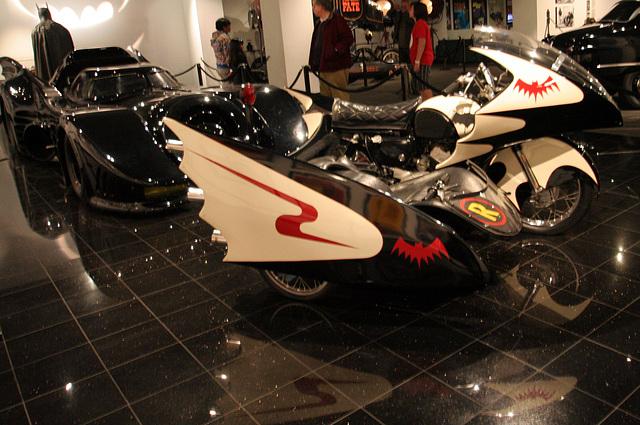 1966 Yamaha YDS-3 Batcycle - Batman film 1966 - Petersen Automotive Museum (8185)