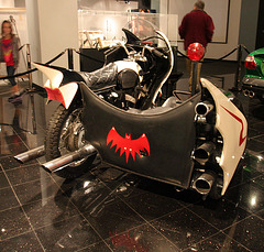 1966 Yamaha YDS-3 Batcycle - Batman film 1966 - Petersen Automotive Museum (8186)