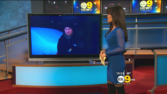 Sharon Tay  la newswoman