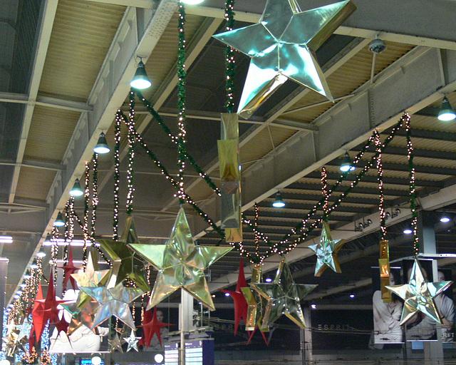 Sternenhimmel am Hauptbahnhof