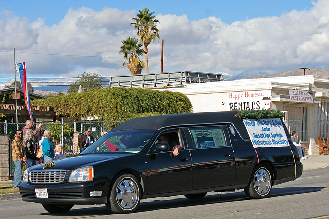 DHS Historical Society Hearse (7558)