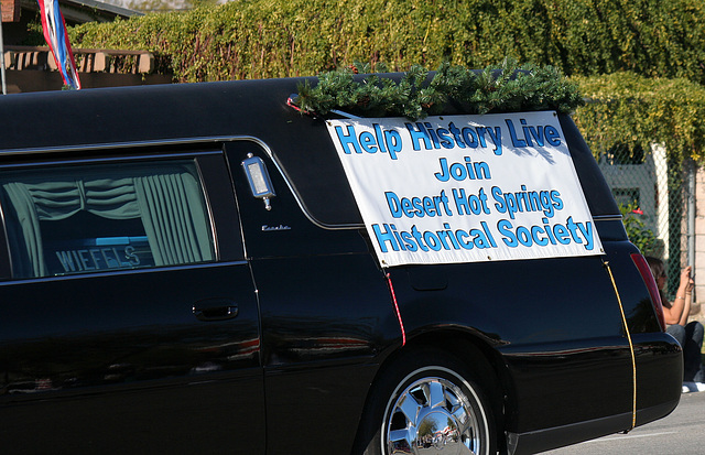 DHS Historical Society Hearse (7560)