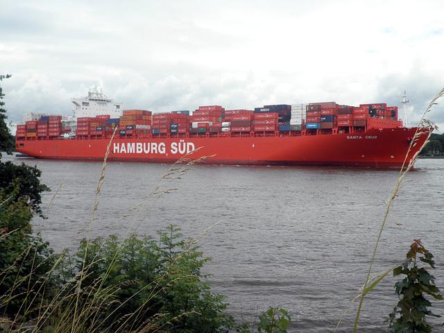 Containerschiff   SANTA  CRUZ