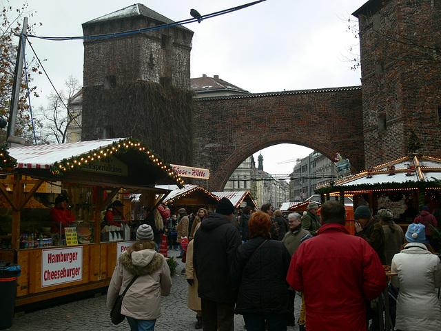 München - Weihnachtsmarkt am Sendlinger Tor