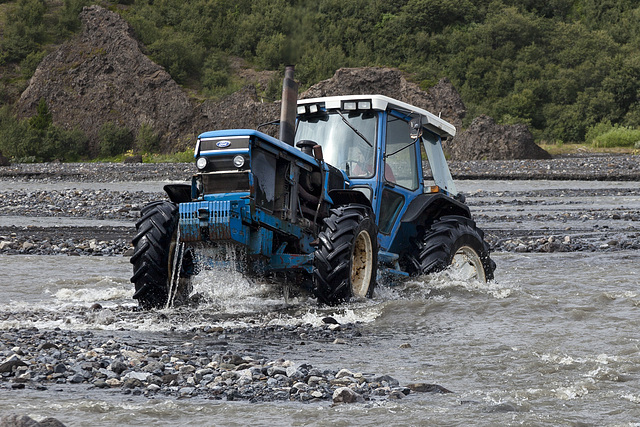 Þórsmörk river crossing