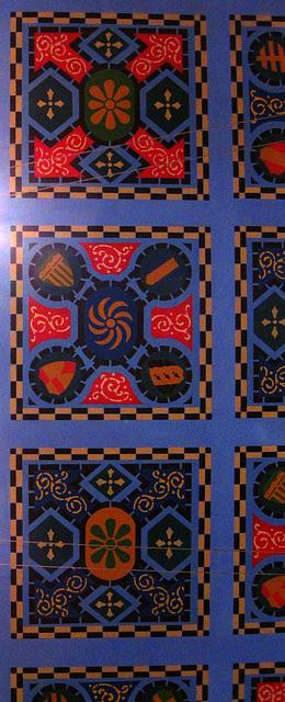 Ceiling of Prado in Balboa Park (3976)