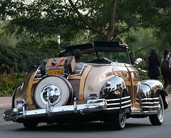 Chevy Fleetline in Balboa Park (8428)