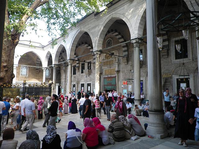 Entrée de la mosquée d'Eyüp.
