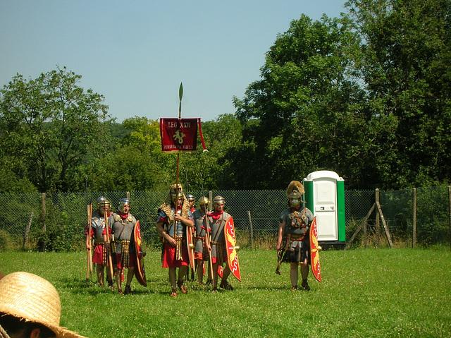 romains (2) Trouvez les anachronismes