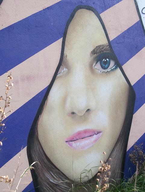 Graffitis Mujer