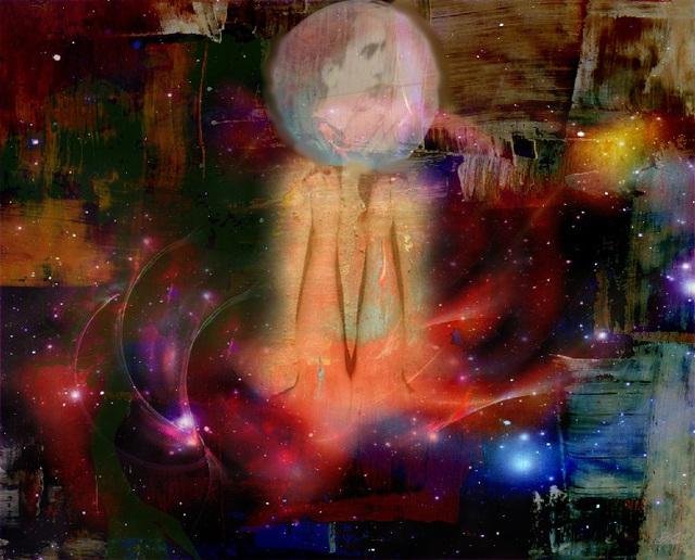 Petit Léo rêve.........dreaming.........Création Krisontème.