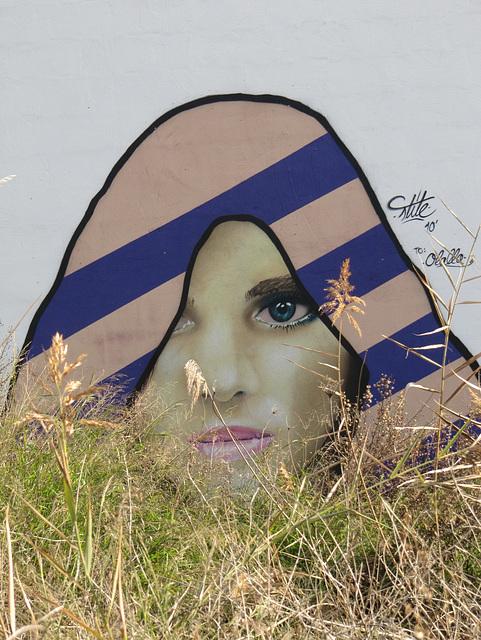 Graffitis Mujer Granada