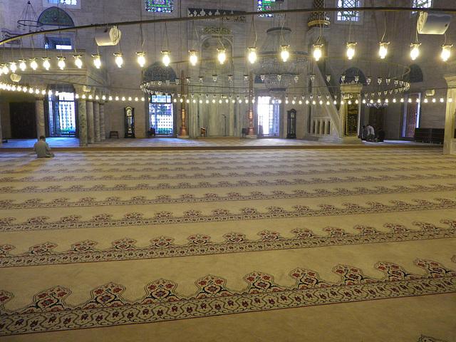Mosquée de Selim le cruel : intérieur 1