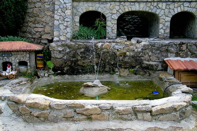 Sa fontaine