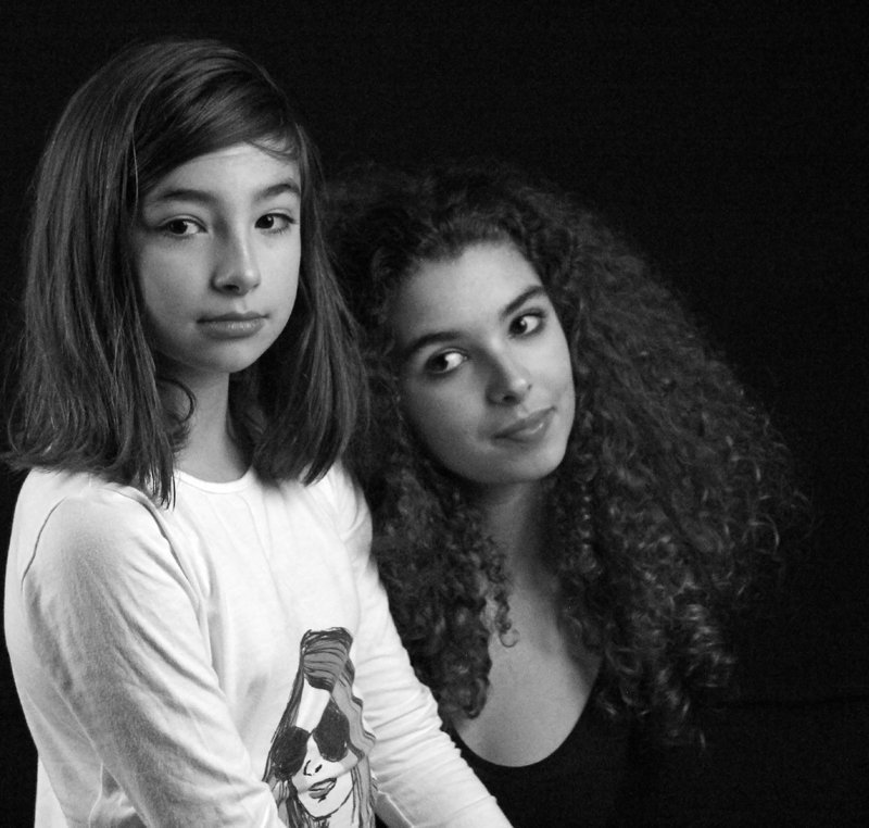 les deux soeurs....