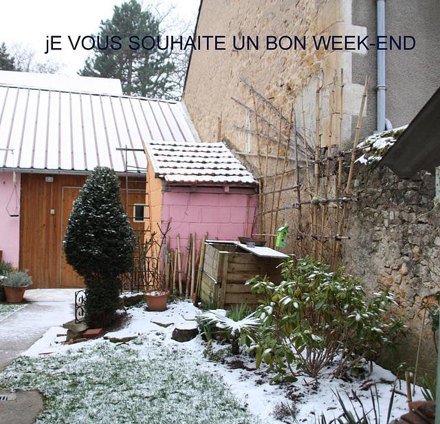 bon week-end mes amies et amis