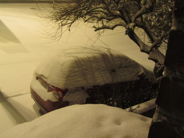 neige record ! en mars !