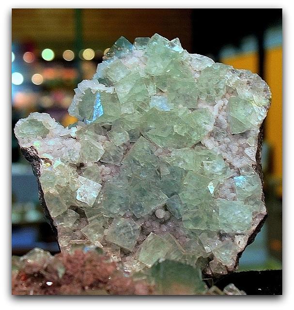 Fluorite - Namibie