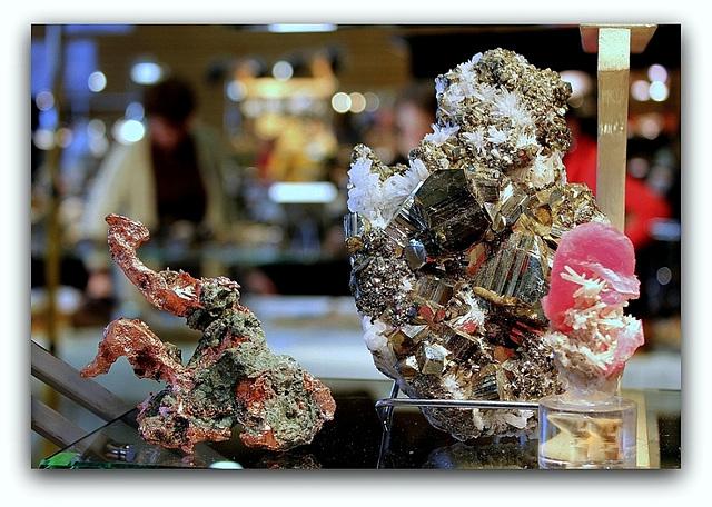 Cuivre natif - Pyrite