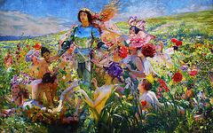 Le Chevalier aux Fleurs