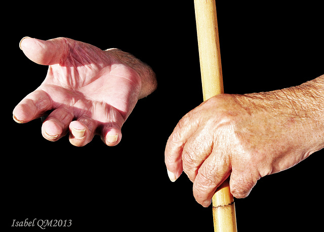 Mãos que falam da vida