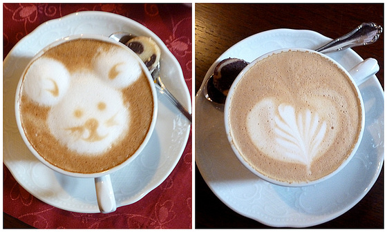 Pirna - 'Ilses Kaffeestube' - 2 Cappuccino