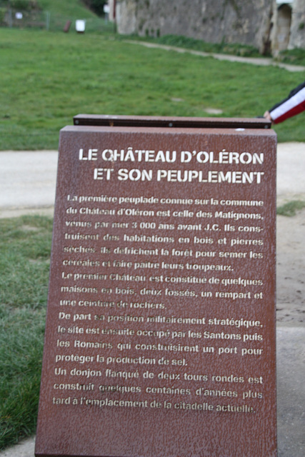 CHATEAU D'OLERON