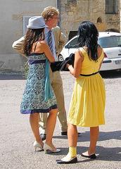Chapeau et talons hauts / Sexy hatter in high heels  -  Claudette : photographe /  1er octobre 2012 - Recadrage.