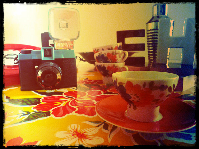 tea cup and diana