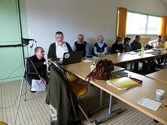 P1000125 — Mikaelo Bronŝtein en La Roche-sur-Yon, la 12an de januaro 2013, okaze de staĝo de Espéranto-Vendée