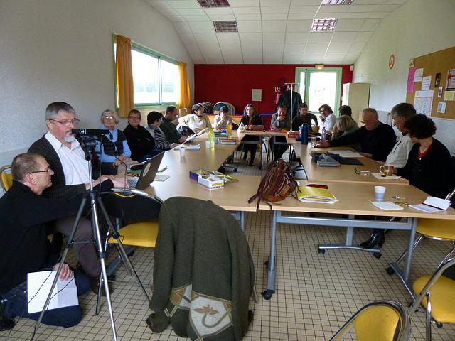 P1000126 — Mikaelo Bronŝtein en La Roche-sur-Yon, la 12an de januaro 2013, okaze de staĝo de Espéranto-Vendée