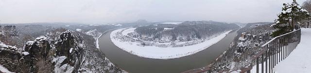Panorama - 'Bastei' - Januar 2013