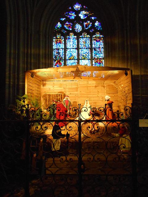 crèche de la cathédrale de QUIMPER