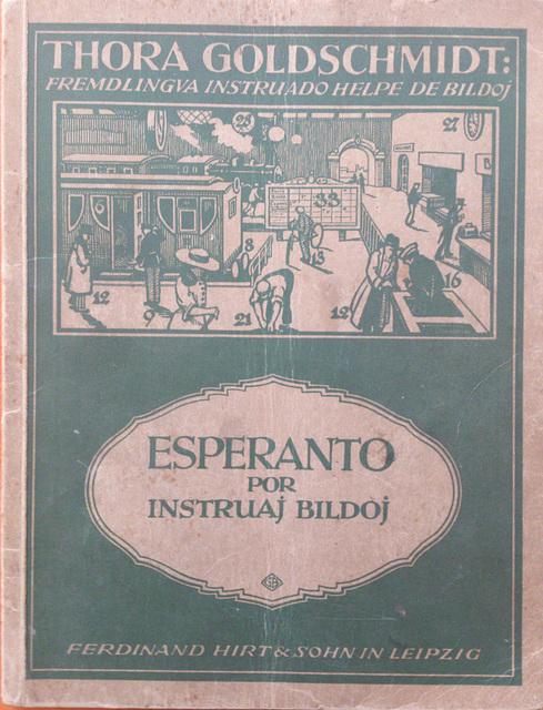 Thora Goldschmidt: Esperanto por instruaj bildoj