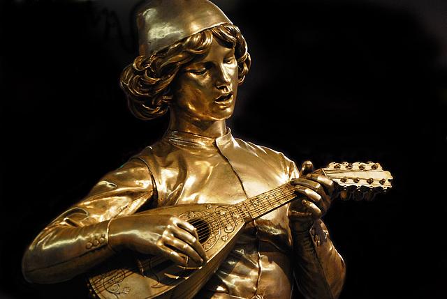 Chanteur florentin du XVe siècle