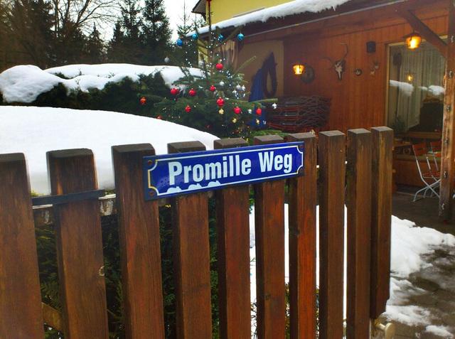 Promille-Weg - Promille-vojo - rue - road