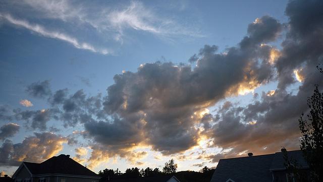 La valse des nuages....