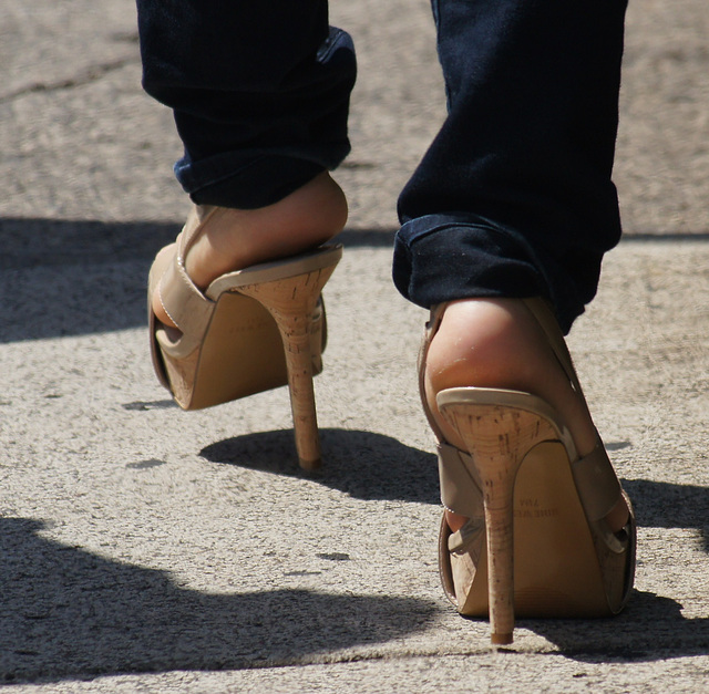 nine west high heels, 7.5