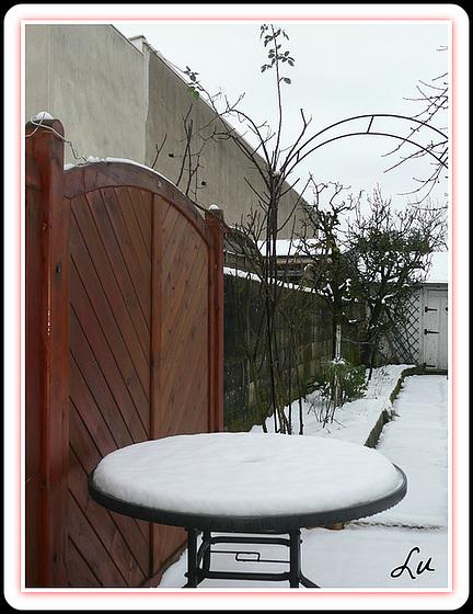 ** La neige a fait son retour **
