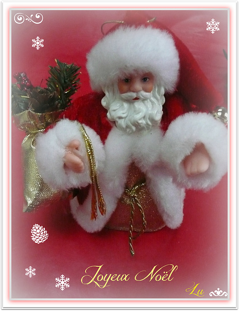 ** Joyeux Noël à tous ; bisous **