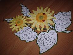 słoneczniki - stolik 61 x 61 cm (6)