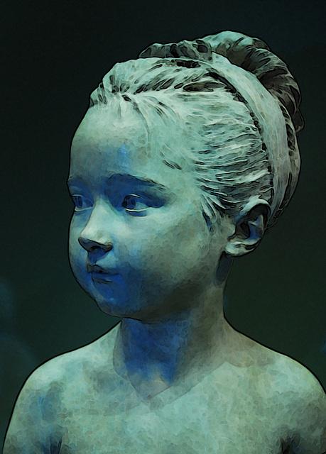 Louise Brongniart à l'âge de 7 ans