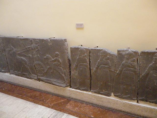 Fresque assyrienne.