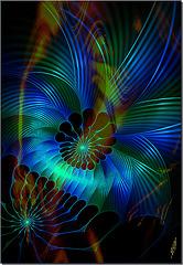 Sur la peau lisse des rendez-vous ... émulsion des bleus  dans le vert des étonnements...