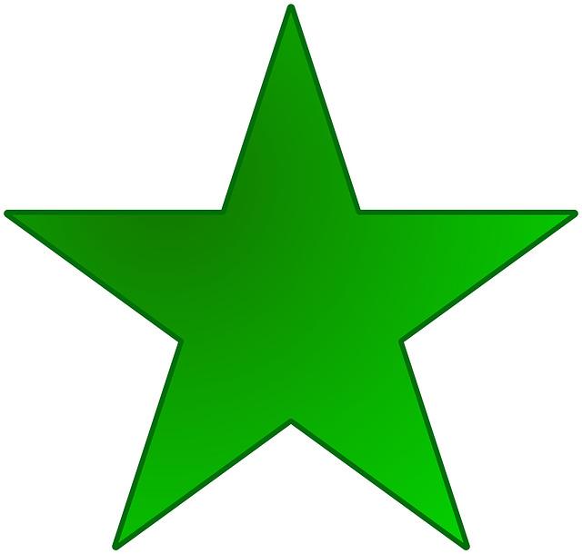 Esperanto stelo, la emblemo de Esperanto