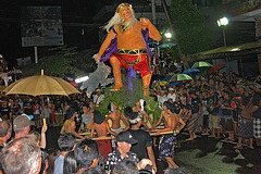 Nyepi parade goes on