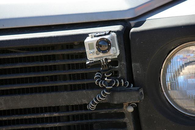 GoPro Hero2 on Rob's Mercedes (9702)