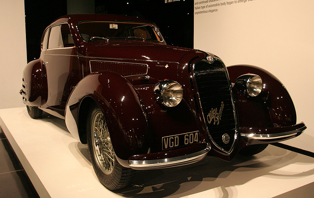 1938 Alfa Romeo 6C2300 Coupe - Petersen Automotive Museum (8065)